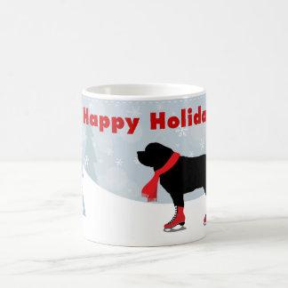 Beautiful Newfie Dog Holiday Mug
