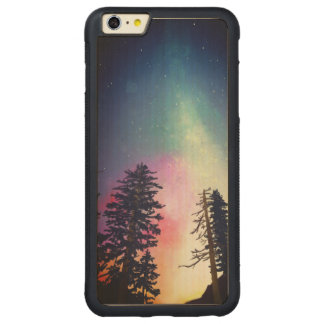 Beautiful night sky shining up to the heavens carved® maple iPhone 6 plus bumper case