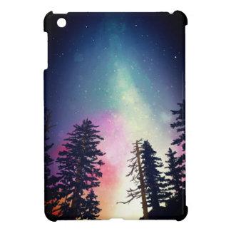 Beautiful night sky shining up to the heavens cover for the iPad mini