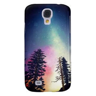 Beautiful night sky shining up to the heavens galaxy s4 case