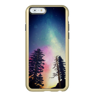 Beautiful night sky shining up to the heavens incipio feather® shine iPhone 6 case