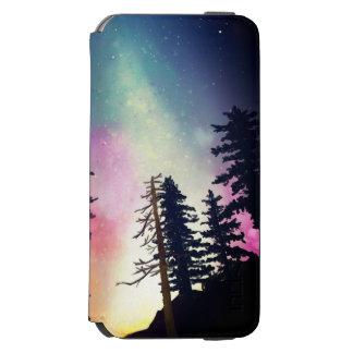 Beautiful night sky shining up to the heavens incipio watson™ iPhone 6 wallet case
