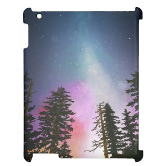 Beautiful night sky shining up to the heavens iPad case