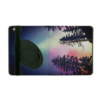Beautiful night sky shining up to the heavens iPad cover