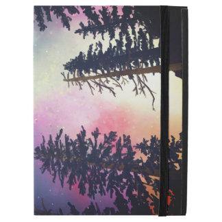 "Beautiful night sky shining up to the heavens iPad pro 12.9"" case"