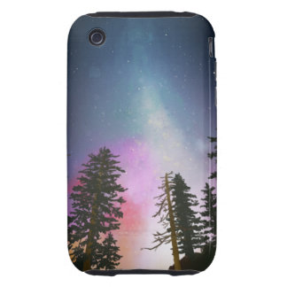 Beautiful night sky shining up to the heavens iPhone 3 tough cases