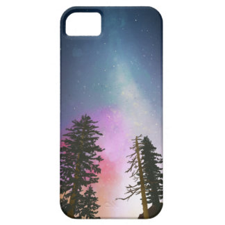 Beautiful night sky shining up to the heavens iPhone 5 cases