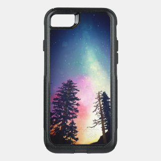 Beautiful night sky shining up to the heavens OtterBox commuter iPhone 7 case