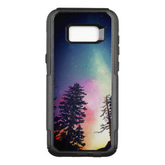 Beautiful night sky shining up to the heavens OtterBox commuter samsung galaxy s8+ case