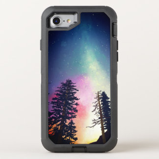 Beautiful night sky shining up to the heavens OtterBox defender iPhone 7 case
