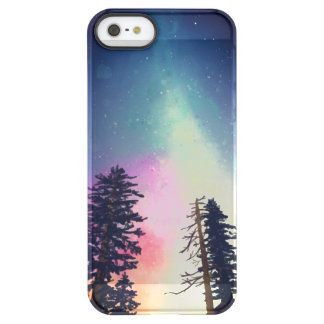 Beautiful night sky shining up to the heavens permafrost® iPhone SE/5/5s case