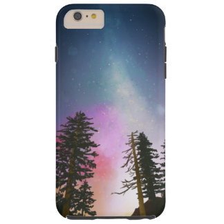 Beautiful night sky shining up to the heavens tough iPhone 6 plus case