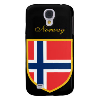 Beautiful Norway Flag Galaxy S4 Case