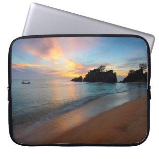 Beautiful Ocean Beachy Scene Laptop Sleeve