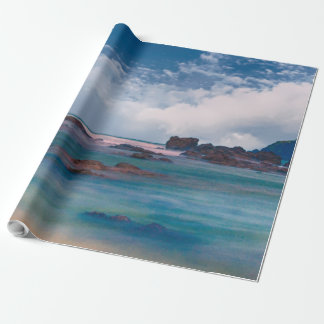 Beautiful Ocean Scenic View Landscape Gift Wrap