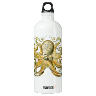 Beautiful octopus picture by Haeckel SIGG Traveller 1.0L Water Bottle