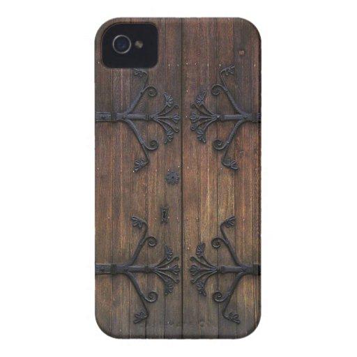 Beautiful Old Wooden Door iPhone 4 Covers