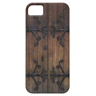 Beautiful Old Wooden Door Case For The iPhone 5