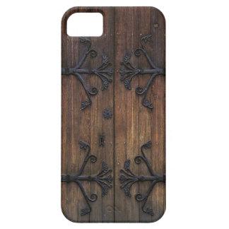 Beautiful Old Wooden Door Case For The iPhone 5