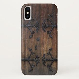 Beautiful Old Wooden Door iPhone X Case