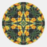 Beautiful Orange and Yellow Lantana Kaleidoscope 4