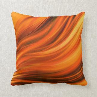 Beautiful orange pillow cushion