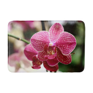 Beautiful Orchid Bath Mat