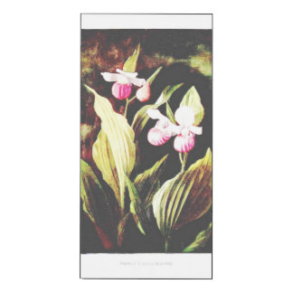 "Beautiful Orchid ""Lady Slipper"" print"