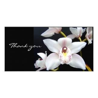 Beautiful Orchid thank you Picture Card