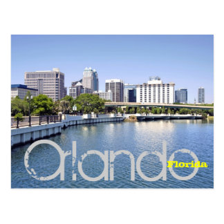 Beautiful Orlando, Florida Postcard