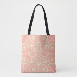 Beautiful Ornamental BoHo Kaleidoscopic Chic Style Tote Bag