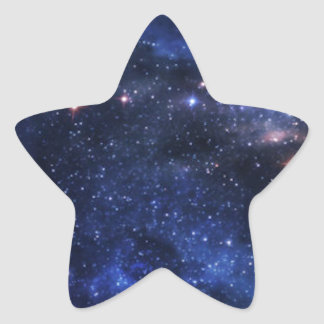 Beautiful Outer Space Star Sticker