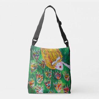 Beautiful over-the-shoulder bag 'Flower Dazzle'