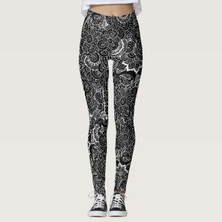 Beautiful Paisley Design Leggings
