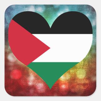 Beautiful Palestinian Square Sticker