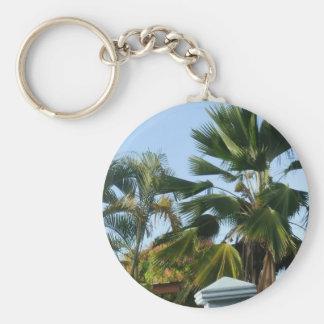 Beautiful Palms Key Ring