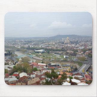 Beautiful panoramic view of Tbilisi Mouse Mat