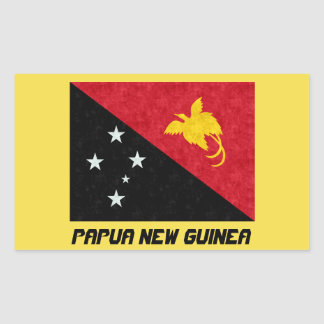 Beautiful Papua New Guinea Flag Sticker