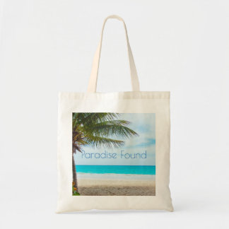 Beautiful Paradise Found Tote Bag