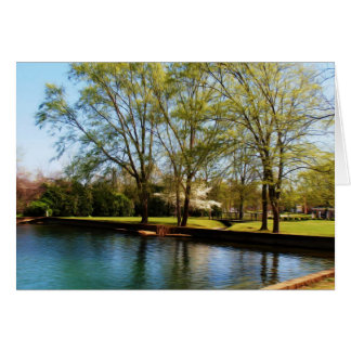 Beautiful Park Scene Card