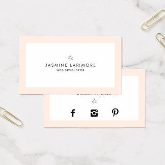 ★ Beautiful  Pastel Business Card