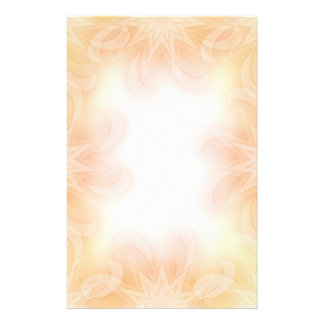 Beautiful pastel flower design stationery