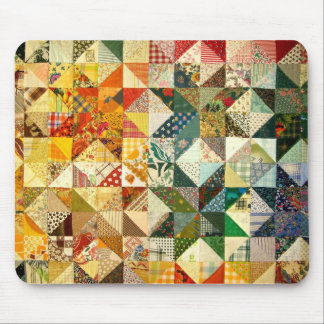 Beautiful Patchwork Mouse Pad