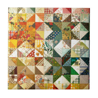 Beautiful Patchwork Small Square Tile