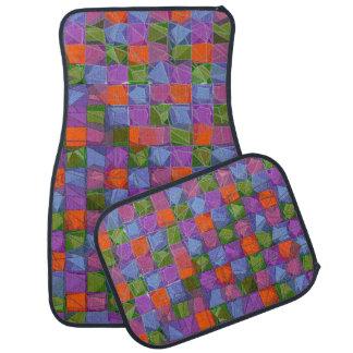 Beautiful pattern car mat