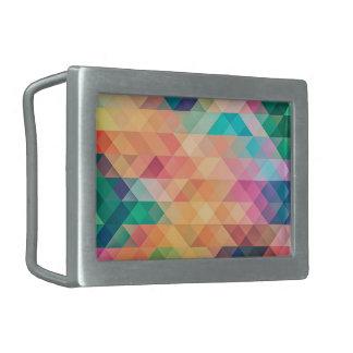 beautiful pattern fashion style rich looks colours rectangular belt buckles