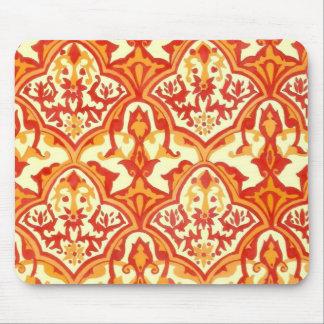 Beautiful pattern-red orange TBA winner Mousepad