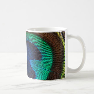 Beautiful Peacock Feather Coffee Mug