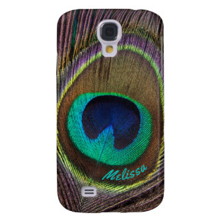 Beautiful Peacock Feather Eye, Your Name Galaxy S4 Case