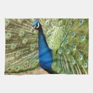 Beautiful Peacock Tea Towel